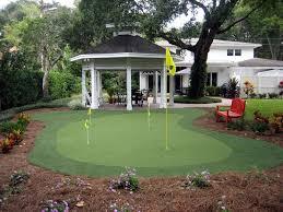 michigan backyard golf putting greens southwest greens pictures