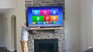 Mounting A Tv Over A Gas Fireplace by Charlotte Home Improvement Blog South Charlotte Tv Mounting Service