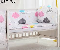 Cloud Crib Bedding 5pcs Cloud Baby Bedding Set Character Crib Baby Bedclothes Baby