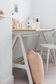 modern desk accessories a modern neutral millennial pink bedroom for a little boy