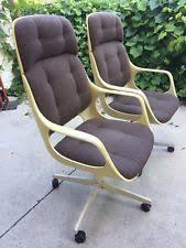 brown mid century modern office chair antique furniture ebay