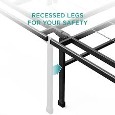 amazoncom zinus 14 inch smartbase mattress foundation platform bed