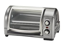Hamilton Beach 6 Slice Convection Toaster Oven Hamilton Beach Easy Reach 4 Slice 31334 Oven Toaster