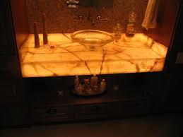 Bathroom White Onyx Countertop AIRMAXTN - Bathroom vanity tops omaha