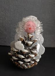19 pine cone crafts for allfreechristmascrafts