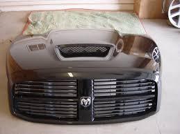 ram srt 10 night runner hood grille shroud for sale dodge ram