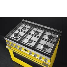 piano cuisine smeg gas cooker cpf9gmyw smeg com