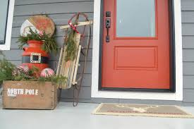 santa claus front porch decor behr holiday home challenge and a