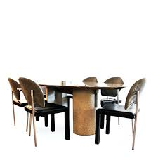 modern oval dining tables dining chairs modern italian dining table set italian modern