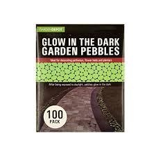 Glow In The Dark Planters by Amazon Com Bulk Buys Glow In The Dark Garden Pebbles Green