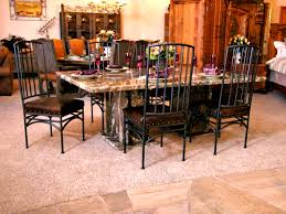 apartments appealing round granite top dining table set home