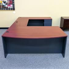 Mahogany Office Desk Office Desk On Sale Used Furniture Right U Shaped Gray Mahogany