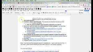 guest teacher final steps info paragraphs youtube
