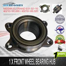 front wheel hub bearing nissan elgrand e51 2002 2010 without abs