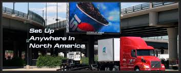 large led display screen rentals indoor and outdoor mobile