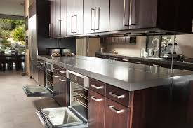 Kitchen Oven Cabinets Commercial Kitchen With Open Oven And Cabinets Royalty Free Stock