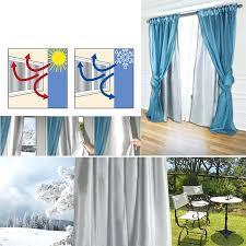 rideau chambre froide rideau isolant du froid rideau rideau semi occultant thermique 140