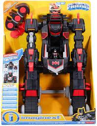 imaginext batmobile with lights imaginext dc super friends rc transforming batbot batmobile