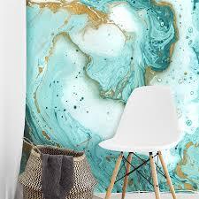 painted marble wallpaper mural walls republic