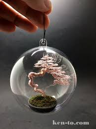 literati wire bonsai tree ornament by ken to by kentoart on deviantart