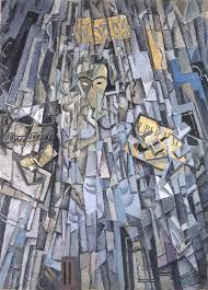salvador dalí autorretrato cubista cubist self portrait