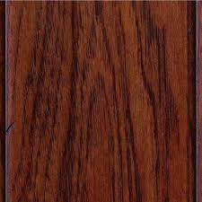 scraped hickory brown engineered hardwood wood