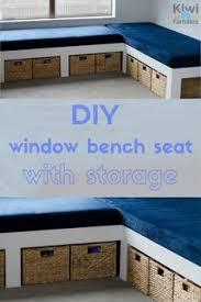 Under Window Bench Seat Storage Diy by How To Build A Window Seat With Storage Diy Tutorial Extra