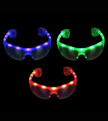 party sunglasses with lights 10 light up sports and raver style party favor sunglasses with led