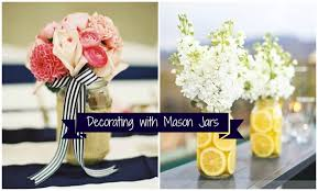 Mason Jar Arrangements Mason Jar Centerpieces Archives Rachel U0027s Lookbook
