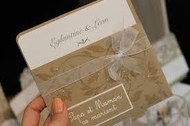 faire part mariage fait collection chêtre chic savoir et créer mariage fêtes