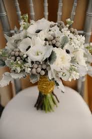 theme wedding bouquets 2014 trend gorgeous grey flowers