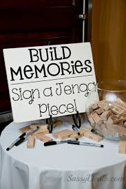 wedding signing board diy wedding jenga guestbook idea reception decor jenga blocks