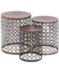 silver barrel side table clairemont round side table side tables crate and barrel and