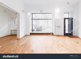 Rooms With Laminate Flooring Renovated Room Shopping Window Empty Store Stock Photo 417648967