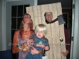 Scary Family Halloween Costumes by Homemade Horror Family Costume