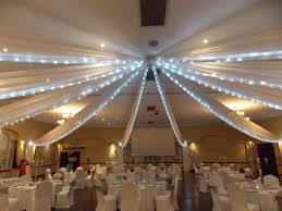 david tutera fairy lights ceiling draping with fairy lights at midrand conference