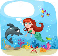 mermaid royalty free cliparts vectors stock illustration