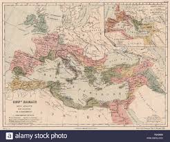 Roman Map Map Roman Empire Stock Photos U0026 Map Roman Empire Stock Images Alamy