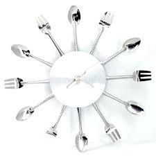 horloge cuisine design pendule de cuisine moderne pendule murale cuisine moderne