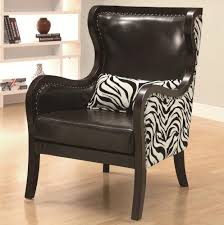Zebra Accent Chair Collection 902069 Zebra Accent Chair