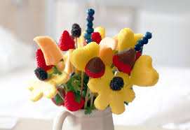 fruit floral arrangements fruit bouquet