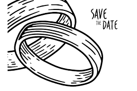 wedding rings ring drawing easy how to draw a ring in a box