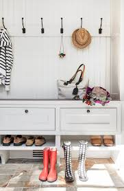Shelves For Shoes by Mudroom Bench With Shoe Storage Contemporary Laundry Room