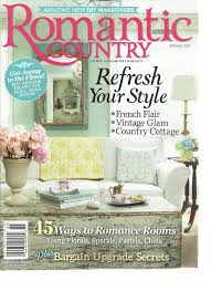 Cottage Living Magazine by Amazon Com Romantic Country Magazine Living With Comfort