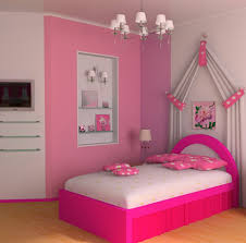 the main points to design a bedroom that resembles a barbie doll