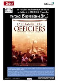 la chambre des officiers livre mercredi 15 novembre tandem theatre de la passerelle la chambre