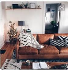 Living Room With Leather Sofa Decor Around Distressed Leather Sofa Pinteres