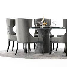 Baker Dining Room Furniture by Baker Katoucha Table And Marat Chairs