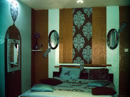 deco chambre turquoise chambre marron et bleu turquoise idées de décoration capreol us