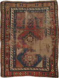 Over Dyed Distressed Rugs Antique Kazak Distressed Rug No 21963 Galerie Shabab